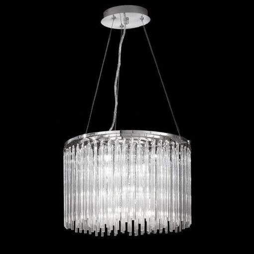 Refined Lighting RL-1-0/5013LF- marimba 8lt, Chrome, Glass