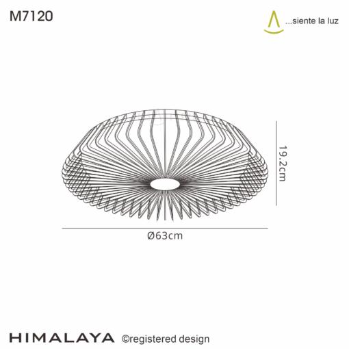 Mantra M7120, Himalaya Fan, White