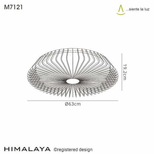 Mantra M7121, Himalaya Fan, Black