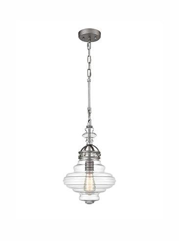 Refined Lighting RL-1-082HCP- industry 1lt, Satin Nickel