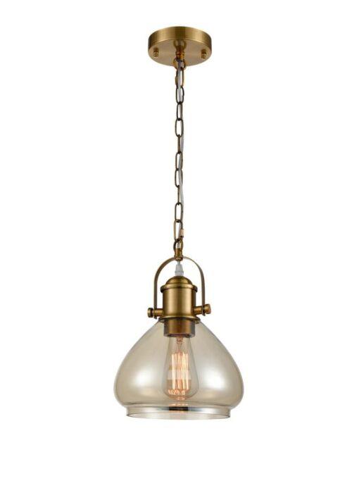 Refined Lighting RL-1-002HCP- industry 1lt, Antique Gold
