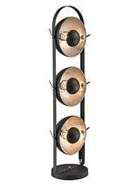 Refined Lighting RL-1-043LS- portables 3lt, Black, Silver