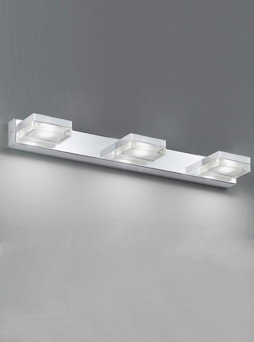 Refined Lighting RL-1-051BW- bathroom light 3lt, Chrome