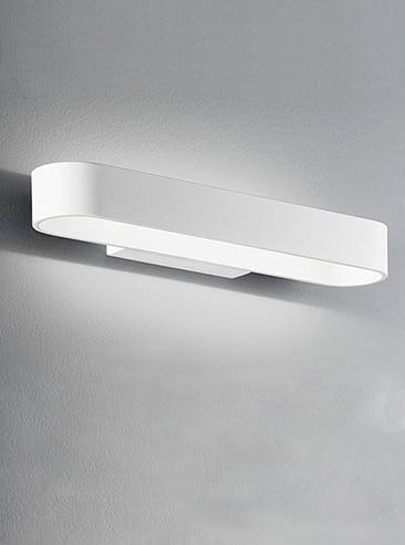 Refined Lighting RL-1-0412BW- uplighters 12lt, White