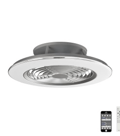 Mantra M6706- Alisio fan, Chrome and Grey